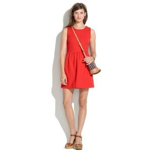 Madewell • Afternoon Fit and Flare Ponte Dress